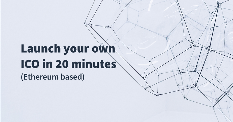 How to build your own Ethereum based ERC20 Token and launch