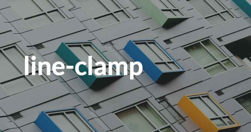 Easy vertical ellipsis with CSS line-clamp - Hashnode